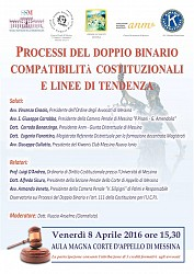 Processi del doppio binario - compatibilità costituzionali e linee di tendenza