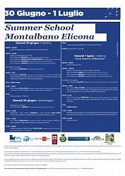POF 2016 - Summer School Montalbano Elicona