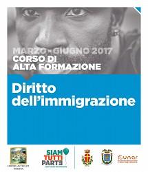 POF 2017 - Bando Corso di alta formazione in Diritto dell Immigrazione