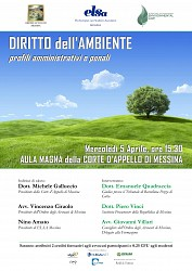 Diritto dell Ambiente - Profili amministrativi e penali
