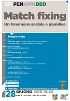 POF 2017 – PENALE E DEONTOLOGIA - Match fixing. Un fenomeno sociale e giuridico.