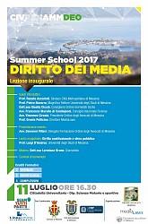 POF 2017 – DEONTOLOGIA - Lezione inaugurale Summer School 2017 sul Diritto dei Media