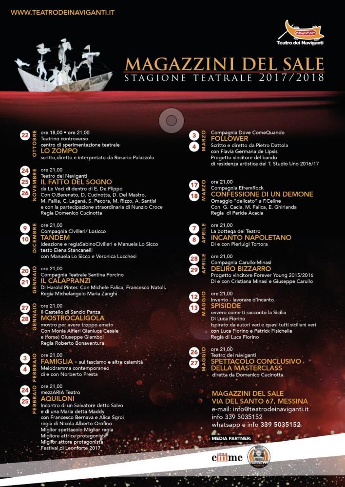 Magazzini del Sale - stagione teatrale