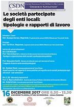 Le società partecipate degli enti locali: tipologie e rapporti di lavoro