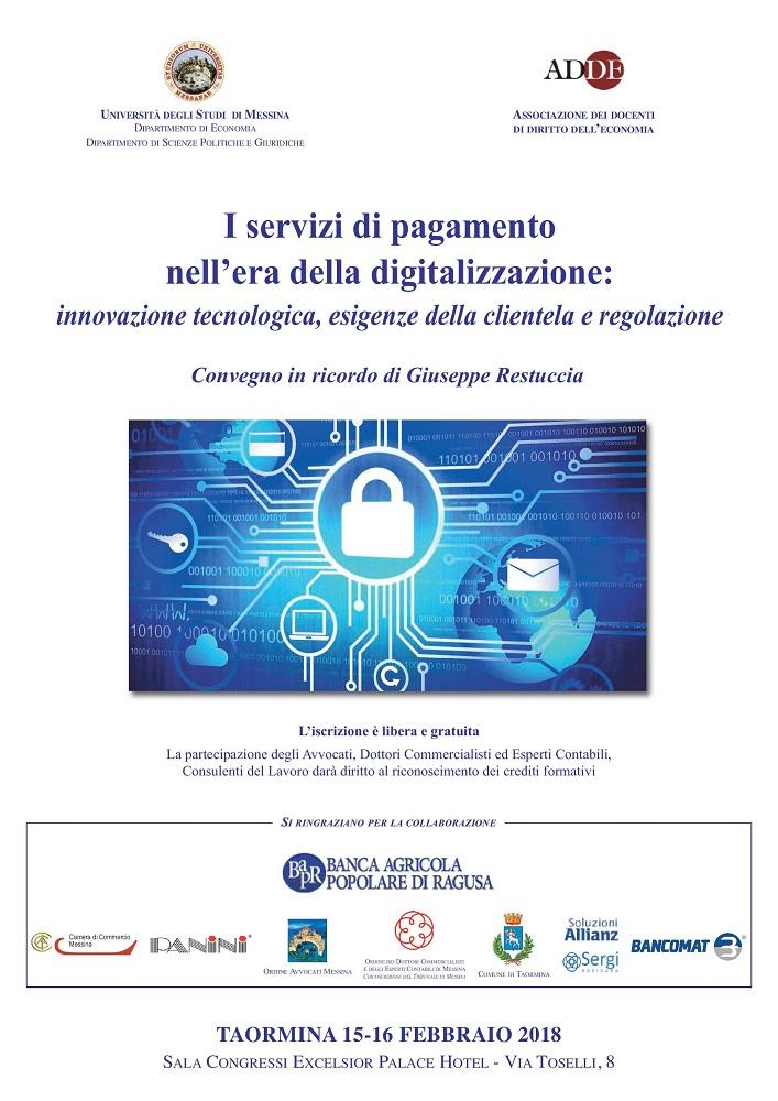 I servizi di pagamento nell era della digitalizzazione