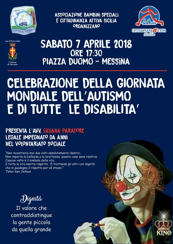Celebrazione della giornata mondiale dell autismo e di tutte le disabilità