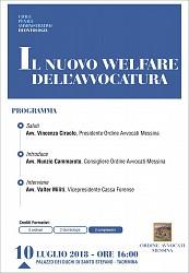 Il nuovo Welfare dell Avvocatura