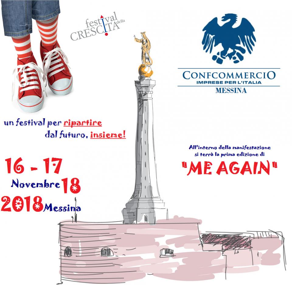 Festival della Crescita - Messina 16, 17 e 18 novembre 2018