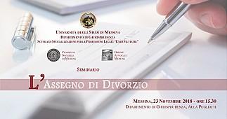 L assegno di divorzio