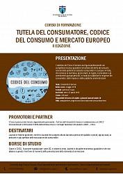 Tutela del consumatore, codice del consumo e mercato europeo