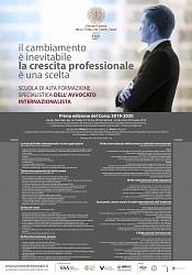 Scuola di Alta Formazione specialistica dell Avvocato internazionalista