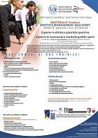 Master di II° livello in Diritto e Managementi dello Sport