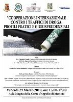 COOPERAZIONE INTERNAZIONALE CONTRO I TRAFFICI DI DROGA: PROFILI PRATICI E GIURISPRUDENZIALI