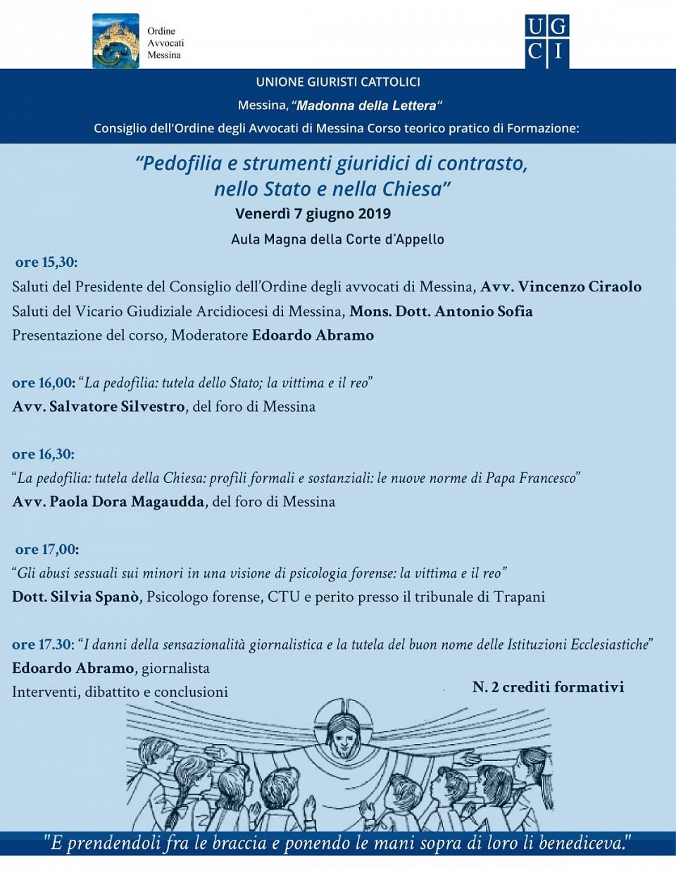 Unione Giuristi Cattolici - Corso teorico pratico di formazione