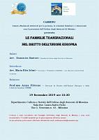 Le famiglie transnazionali nel diritto dell unione europea