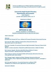 Seminario di studi - BITCOIN & CO