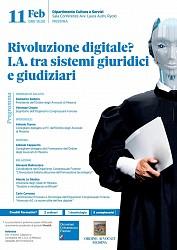 Rivoluzone digitale? I.A. tra sistemi giuridici e giudiziari