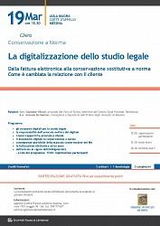 La digitalizzazione dello studio legale