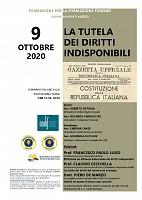 Coa Arezzo - La tutela dei diritti indisponibili