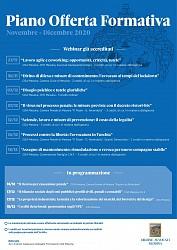 P.O.F. Consiglio Ordine Avvocati / Nov.- Dic. 2020